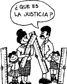 Worksheet. La Justicia